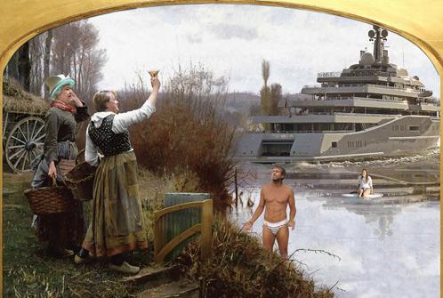Политическая элита России в шуточном календаре