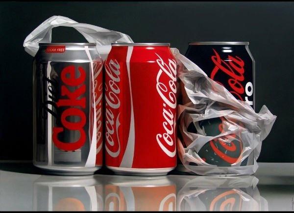 Как нужно открывать Кока-колу