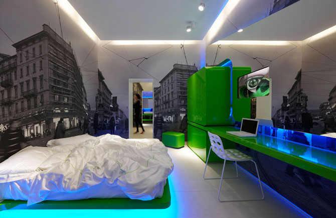 Гостиница будущего (23 фотографии)