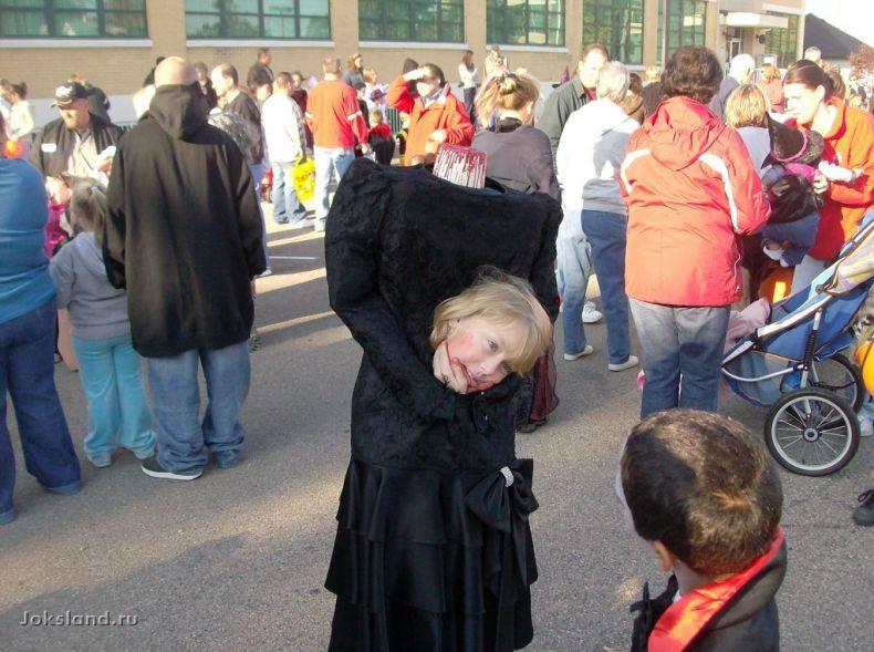 Один из лучших костюмов для Хэллоуина