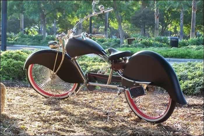 Крутые велосипеды (часть 2, 25 фотографий)