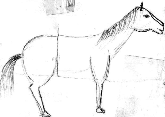 Что-то в этой лошадке не то...