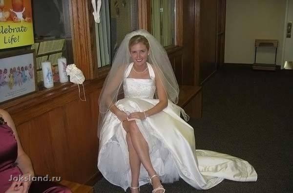 Ох уж эти невесты, молодые, задорные!