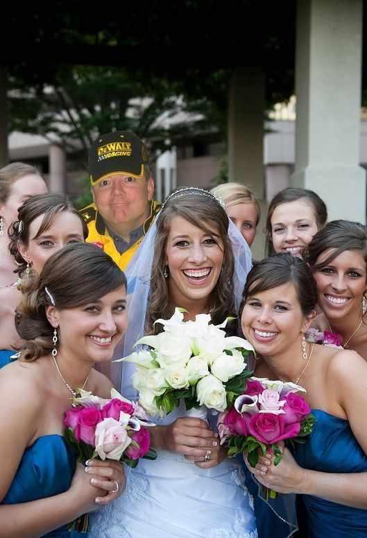 Отец на свадьбе (16 фотографий)
