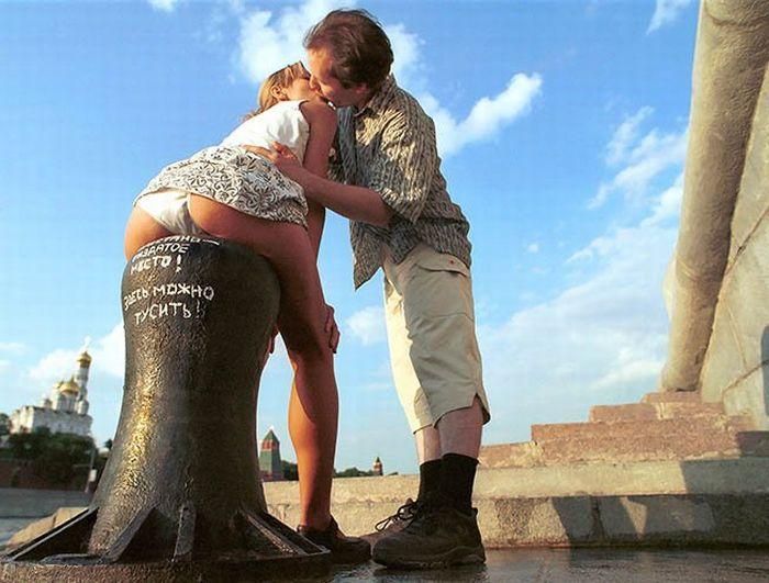 Московские поцелуи (28 фотографий)