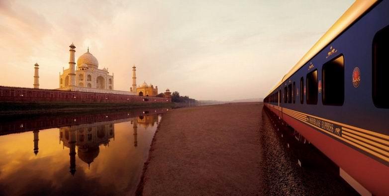 Лучший поезд 2011 года – индийский Maharajas' Express (19 фотографий)