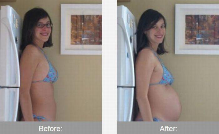 До и после трансформации
