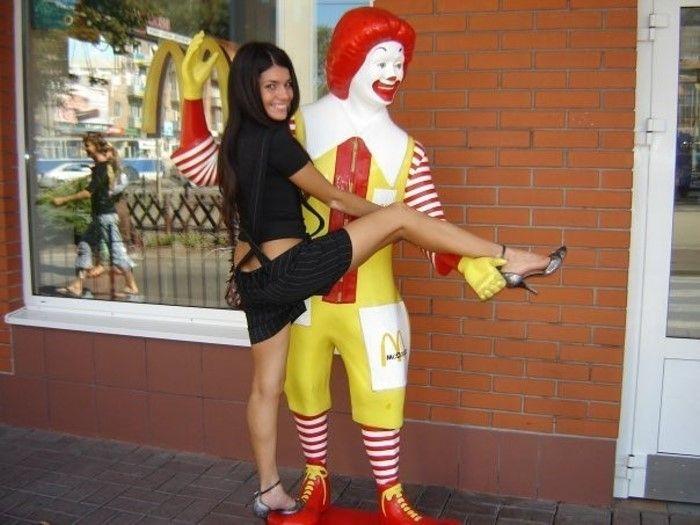 Клоун Рональд - Ronald McDonald