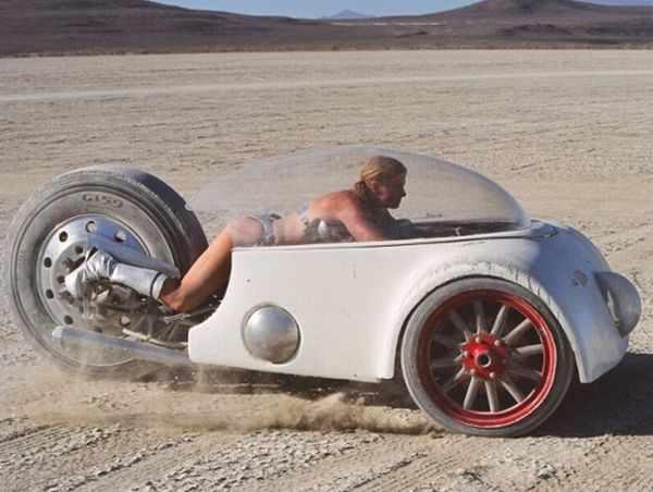 Смешные и странные автомобили (26 фотографий)