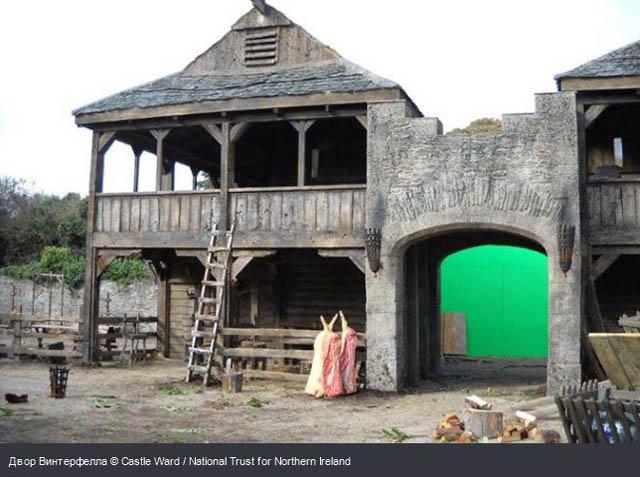 Двор Вннтерсрелпа c Castle Ward / National Trust for Northern Ireland