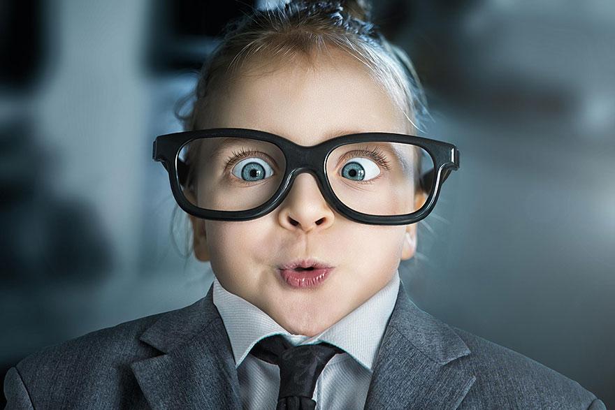 Когда папа - фотохудожник, детский альбом получается потрясным (22 картинки)