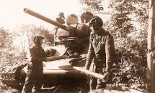 ВОВ 2 танкисты