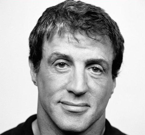 Сильвестр Сталлоне портрет