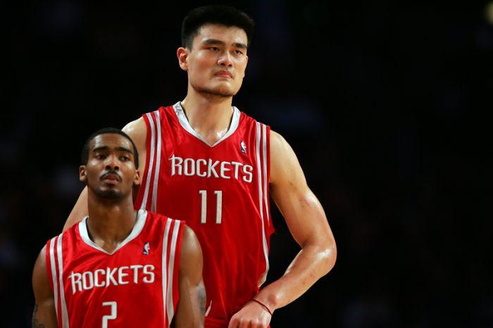 Самый высокий баскетболист в мире - Яо Мин (46 фото)