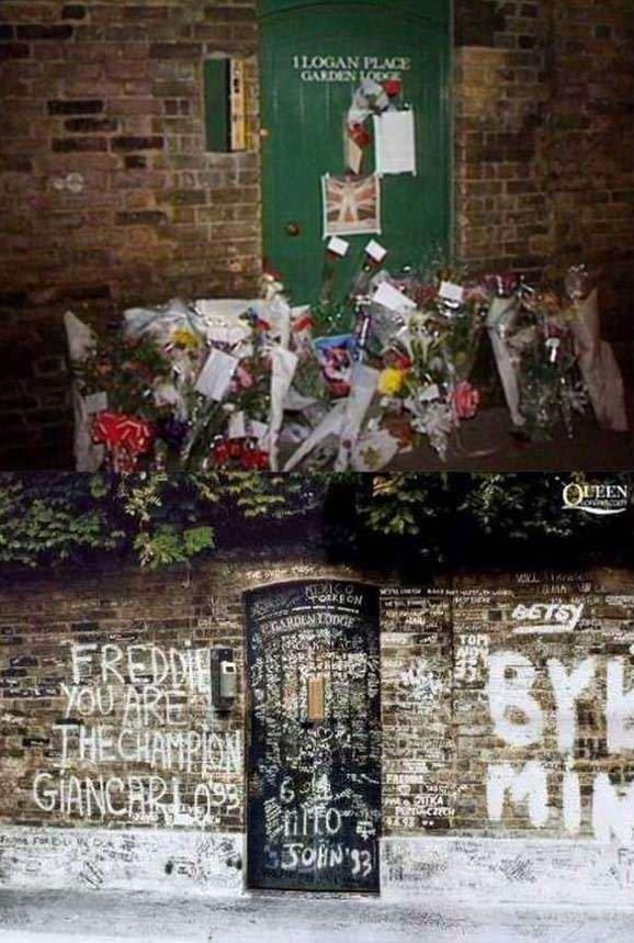 стена памяти Фредди Меркьюри