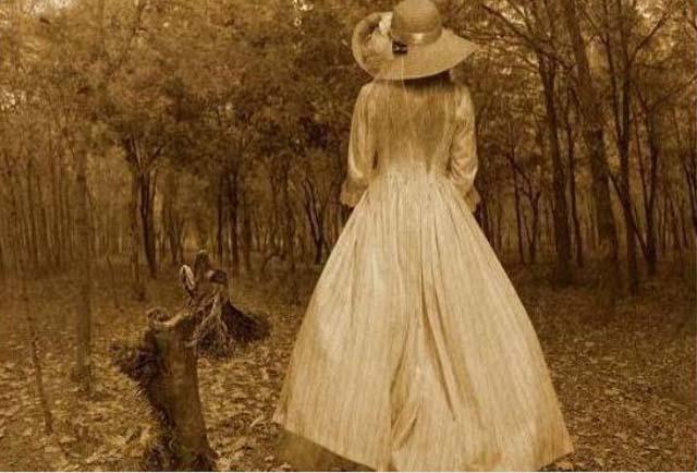 Незнакомка Осенью 1816 года в Александрии, штат Вирджиния