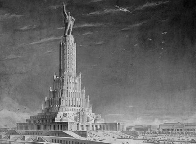 Факты о грандиозном Дворце Советов СССР