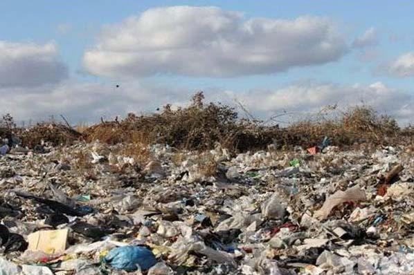 полигон мусорный пластик