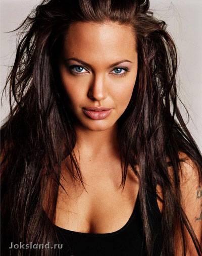 Очень красивая фотосессия Анджелины Джоли