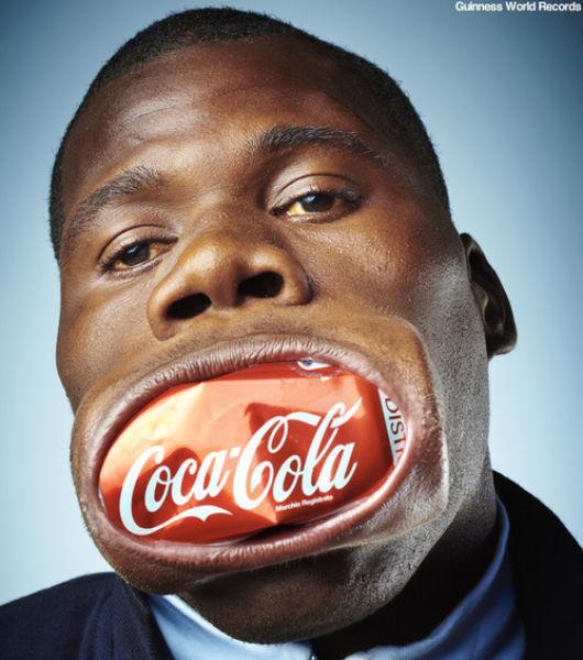 Человек - большой рот