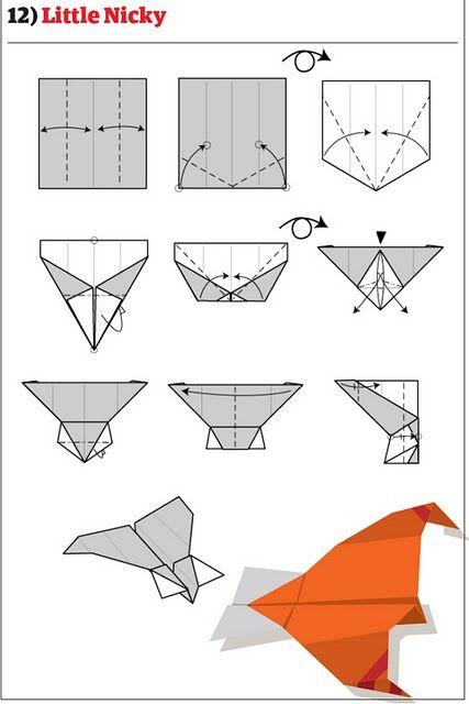 Делаем бумажные самолетики
