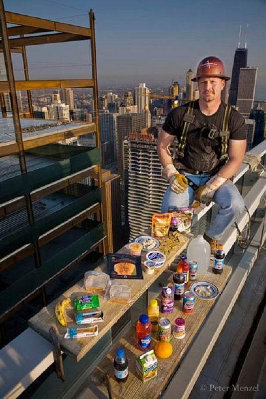 Что едят каждый день во всем мире (8 фотографий)