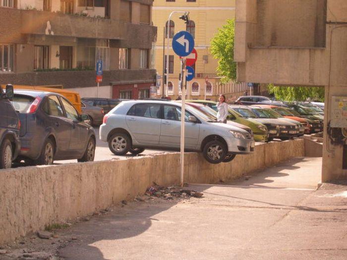 Девушки паркуются (34 фотографии)
