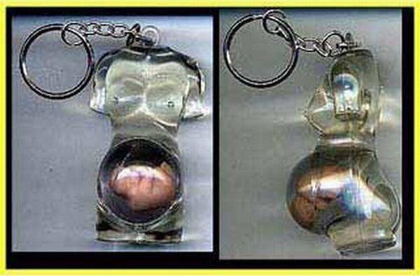 Беременный брелок для ключей. 1999 год.