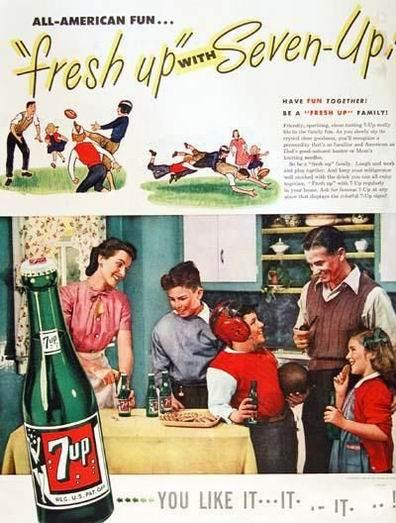 7-UP Напиток 7-up, изобретенный в 1920 году, содержал в своем...
