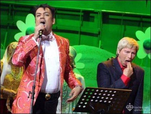 Басков и Киркоров на сцене. Баскова тошнит