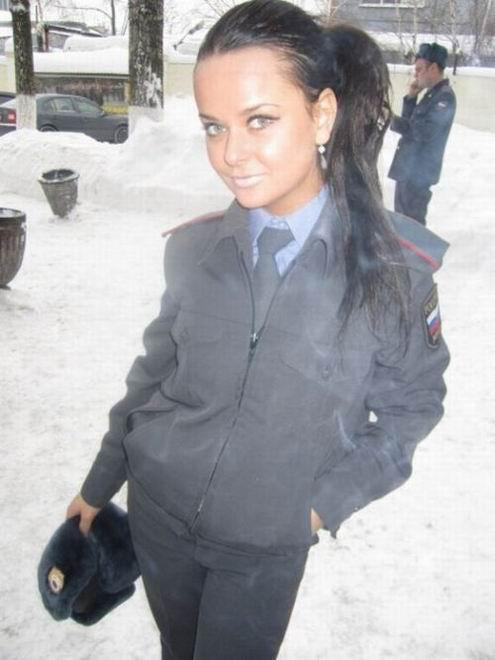 Самая гламурная будущая полицейская России (36 фотографий)