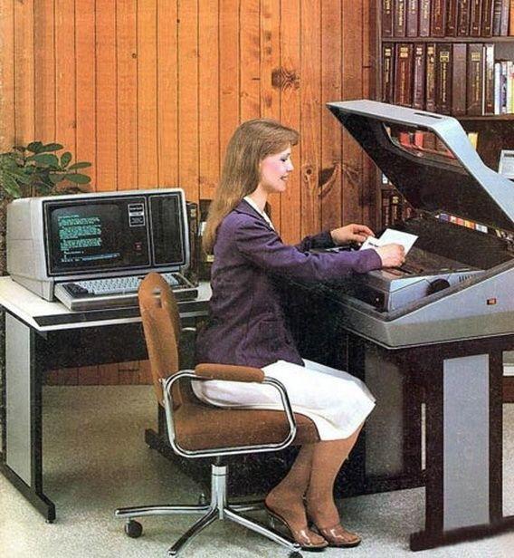 Как рождался компьютер (27 фотографий)
