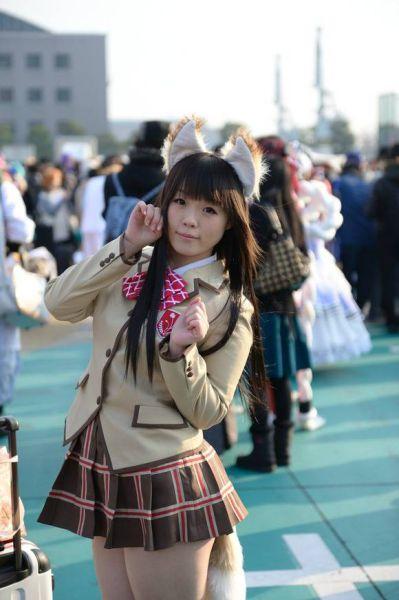 Милые косплейщицы из Азии (51 фотография)
