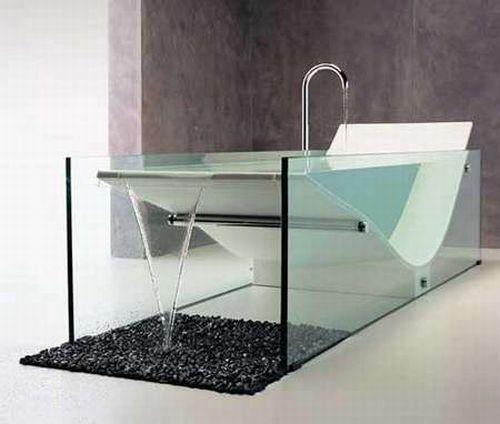 Креативные ванны (21 фотография)