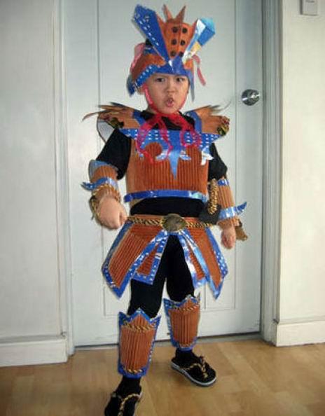 Необычные костюмы для Хэллоуина
