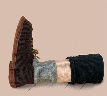 Обувь для тех, кому скучно