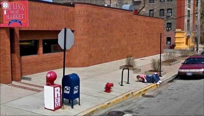 Подборка из приколов от Google Street View (22 скрина)