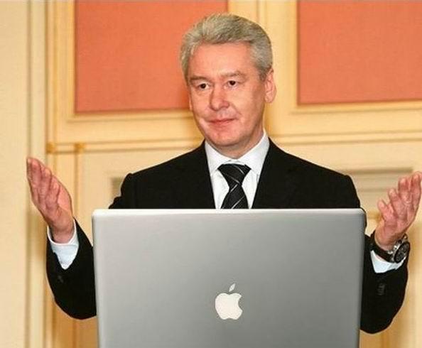 Мэр Москвы решает проблемы пробок