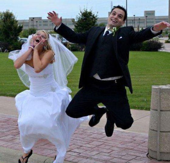 Нелепые свадебные фотографии (72 фотографии)