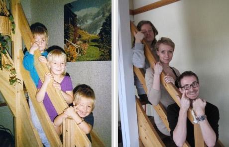 Тогда и сейчас (30 фотографий)