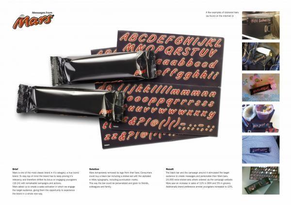 MARS MESSAGES, Mars, FHV / BBDO, Печатная реклама