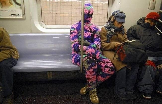 Ехала в метро