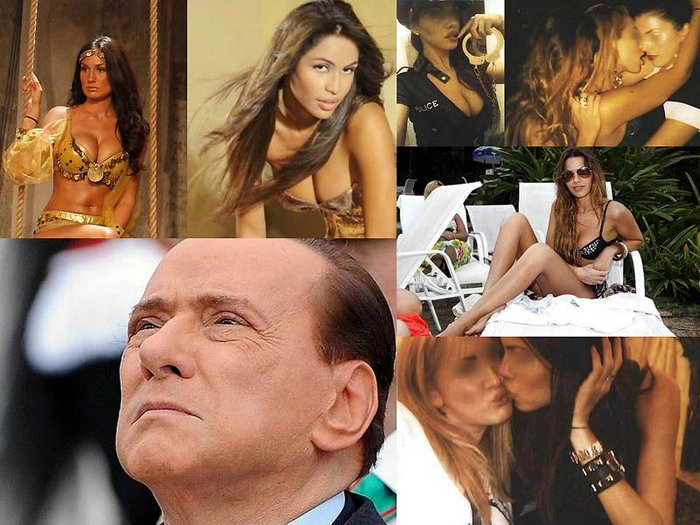 "Cекс-вечеринки Сильвио Берлускони в стиле ""бунга-бунга"" (24 фотографии)"