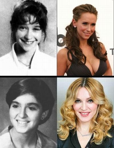 Фотографии звезд из выпускных альбомов (68 фотографий)