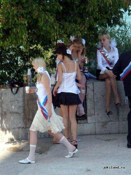 частные фото русских выпускниц