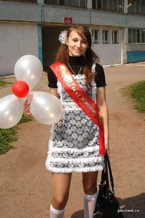 Частное фото выпускной