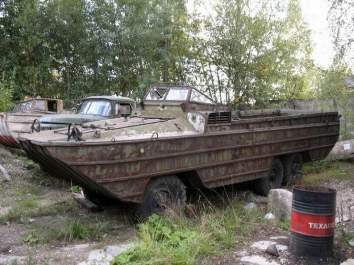 Заброшенные концепты советских вездеходов (19 фотографий)