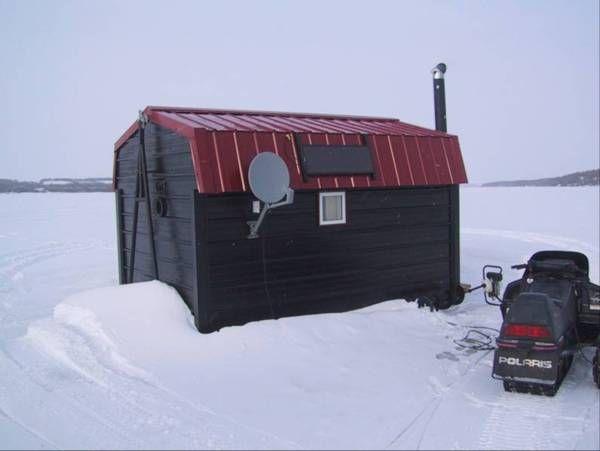 Как сделать зимнюю рыбалку комфортной (9 фотографий)