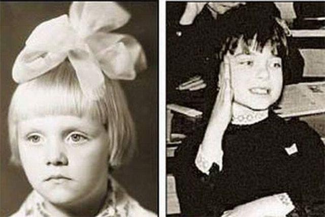 Фото наших звезд в детстве