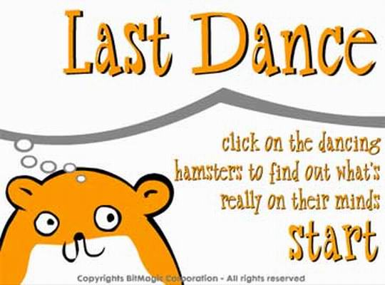 Hamsters Last Dance